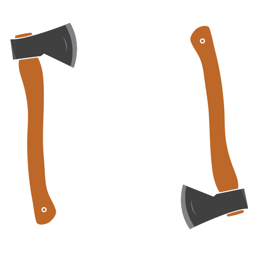 The Axe Shed logo
